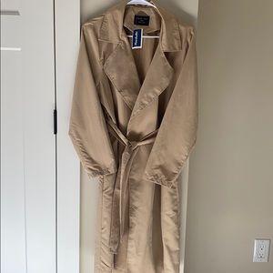 NWT Camel trench coat